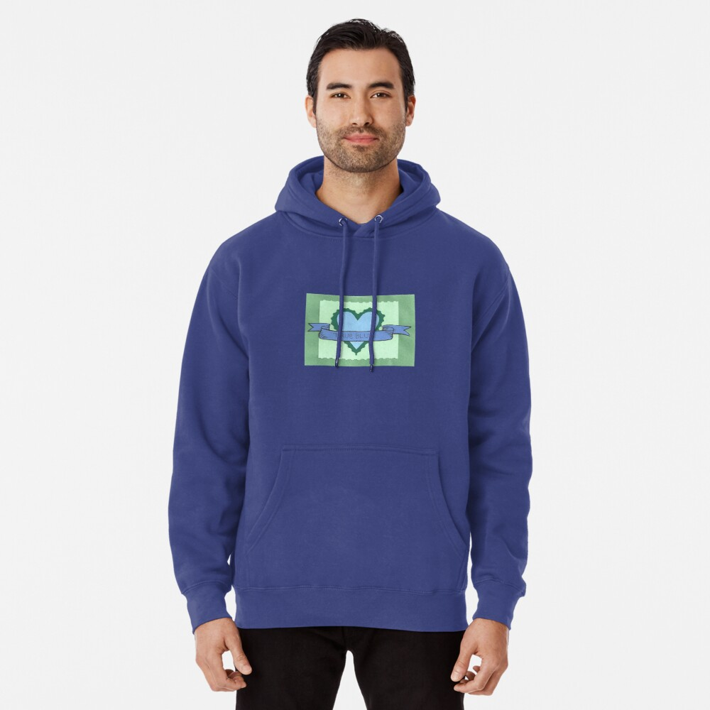 True Blue Pullover Hoodie Front