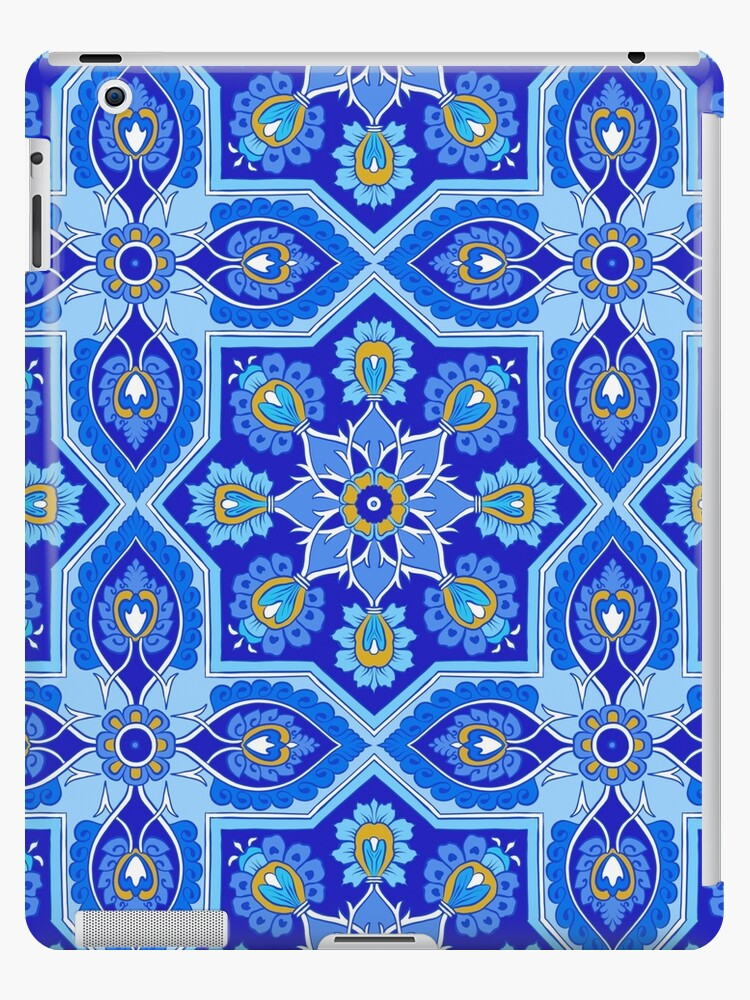 Blue Spanish tile by torysevas