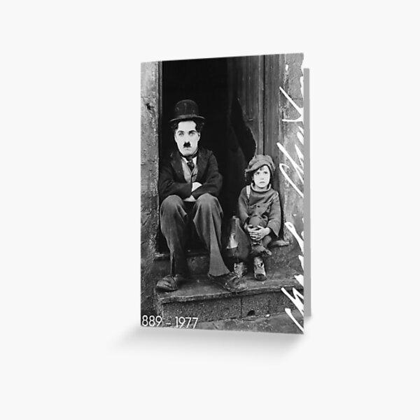 Charlie Chaplin Carte de vœux