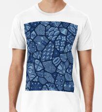 Adire Eleko Batik Männer Premium T-Shirts