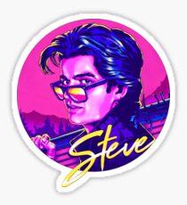 stranger things Steve Harrington Sticker