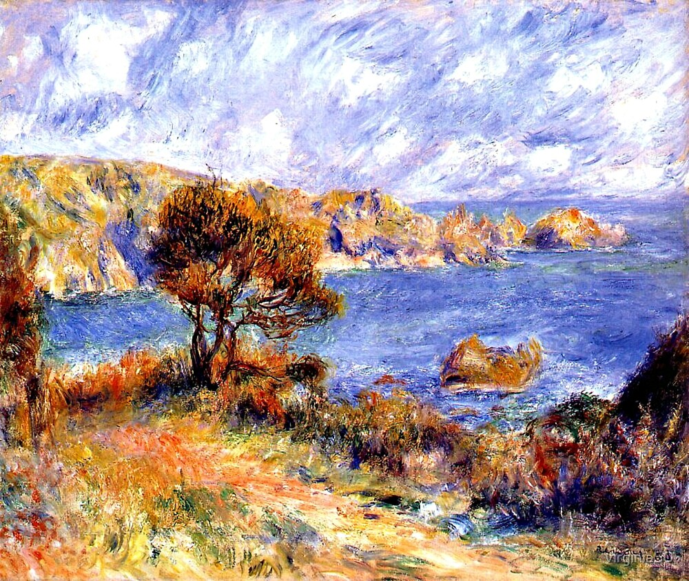 Renoir - View at Guernsey by virginia50