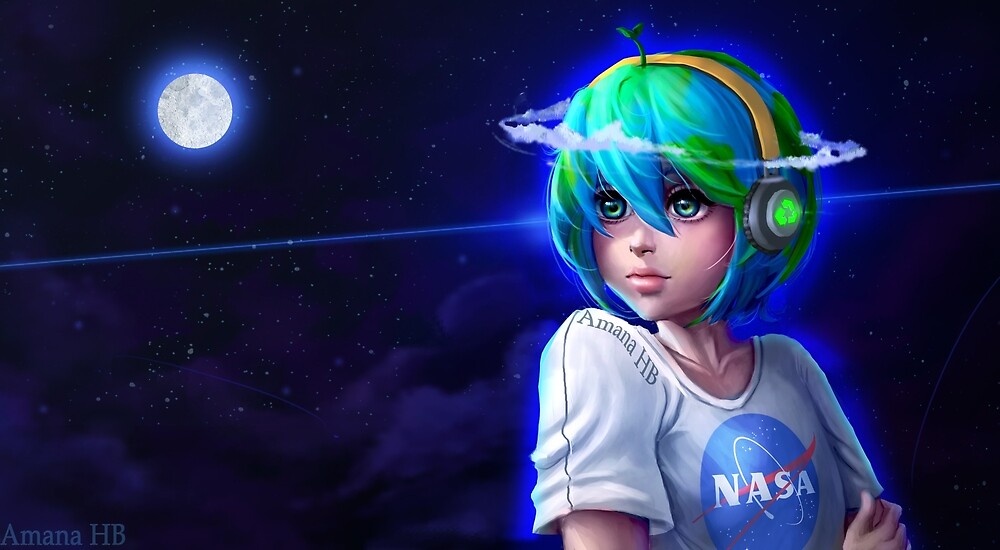 Earth Chan by Amana-HB