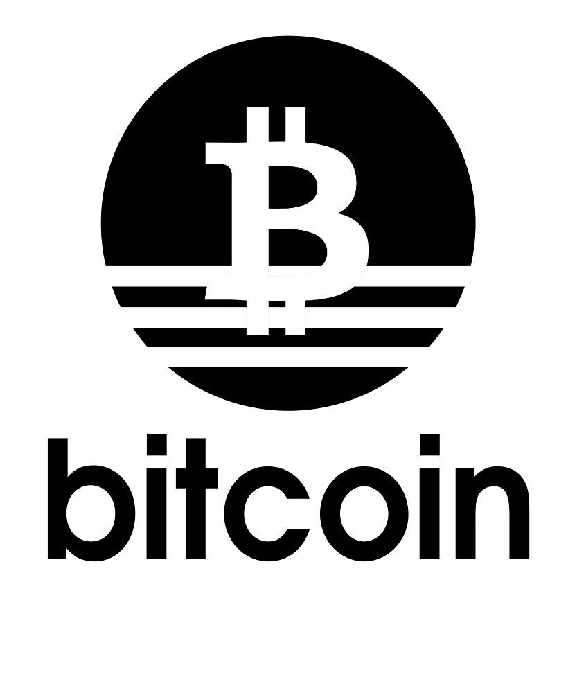 Bitcoin BTC Cryptocurrency T-Shirt and Stickers Adidas Logo by langston1014
