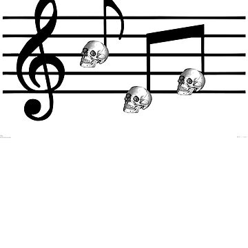 Musical Skulls by babydollchic