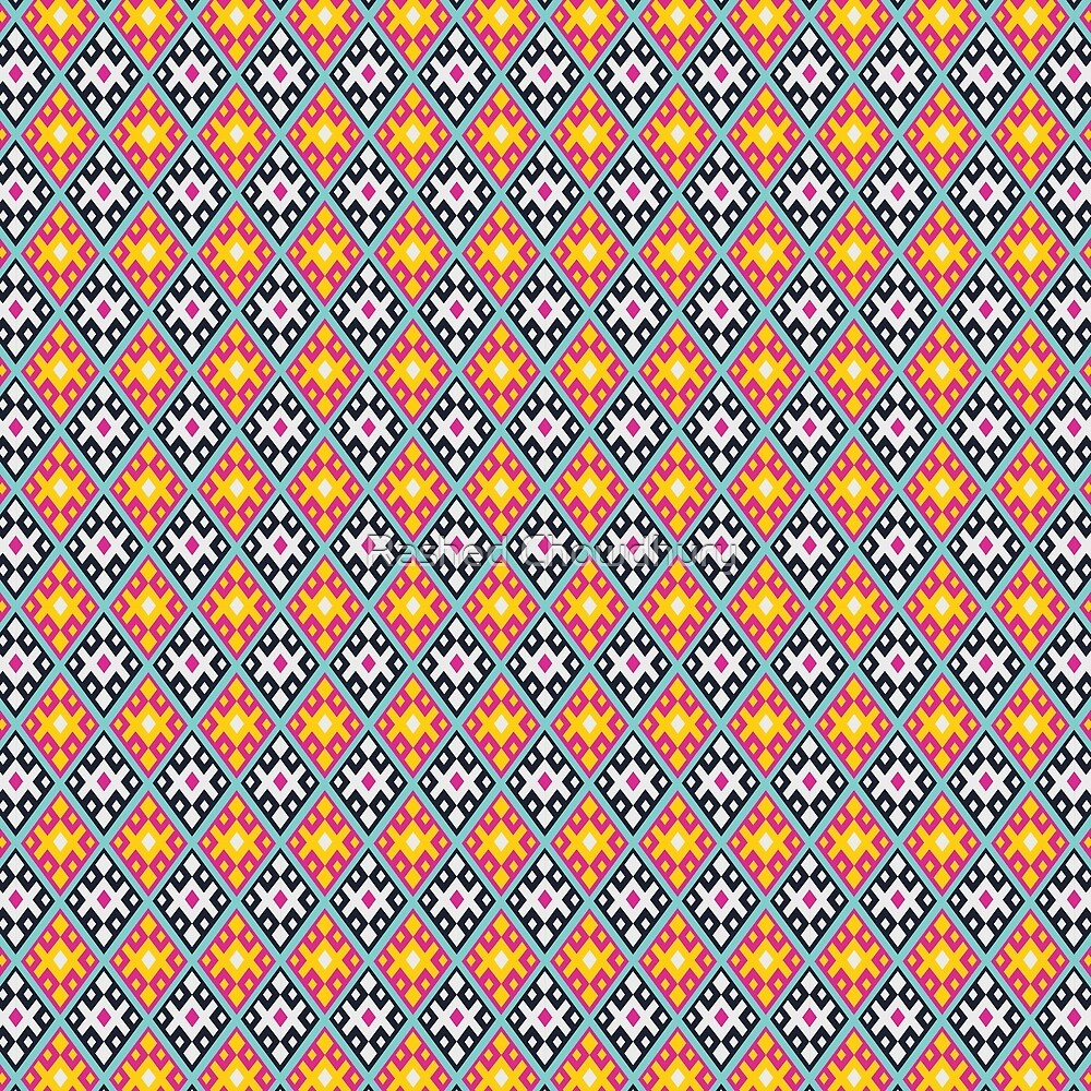 Modern Boho Pattern by Rashed Chowdhury