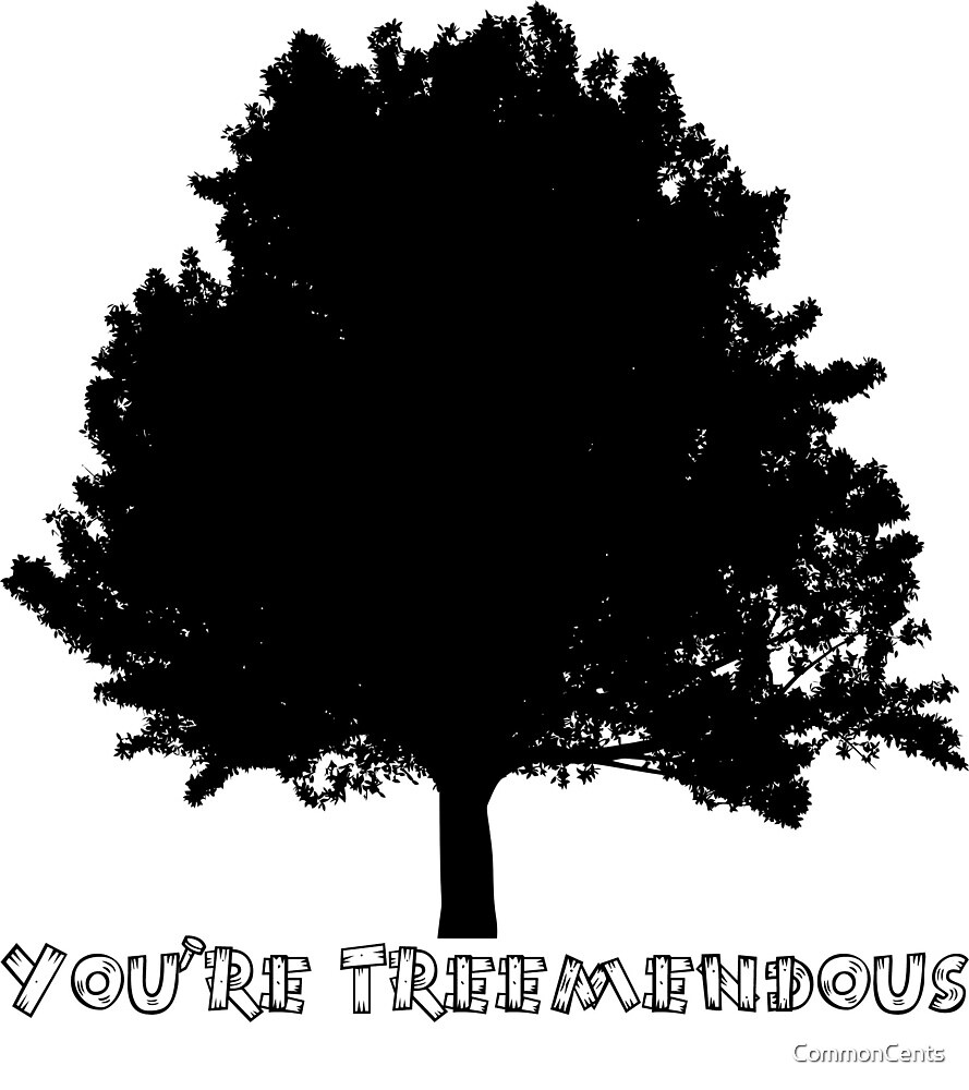 You're Treemendous by CommonCents