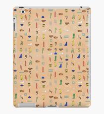 Hieroglyphic Alphabet iPad Case/Skin