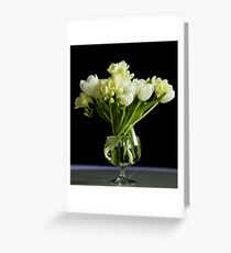 Simple elegance Greeting Card