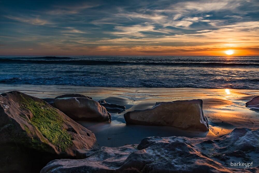 Long Beach Sunset by barkeypf