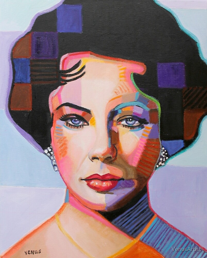Elizabeth Taylor by VenusArtist