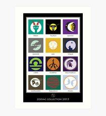 Horoscope Collection 2015  Art Print