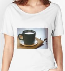 Morning Hot Coffee Women's Relaxed Fit T-Shirt