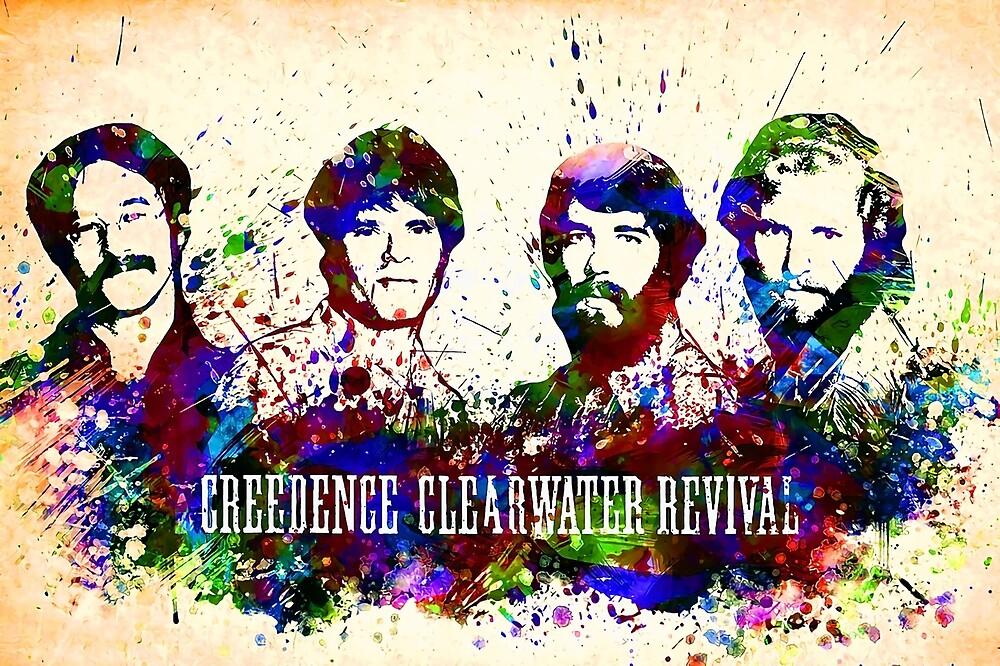 Sell C Clearwater R Postter Full Coler  by dollkenta