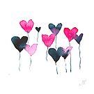 Heartfelt balloons by Michelle Walker