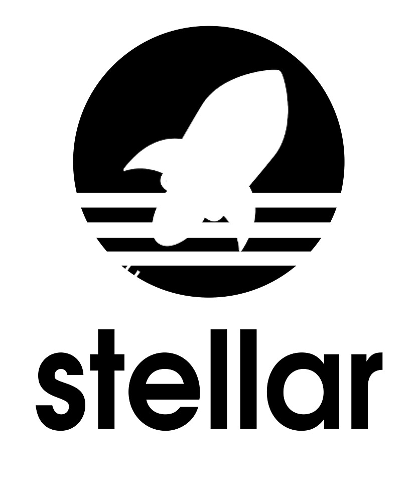 Stellar Lumens XLM Coin T Shirt & Stickers for Blockchain Fans Adidas Logo by langston1014