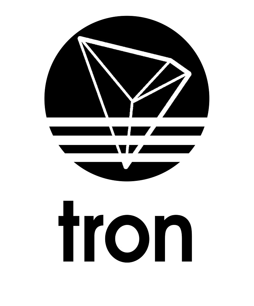 Tron TRX Coin T Shirt & Stickers for Blockchain Fans Adidas Logo by langston1014
