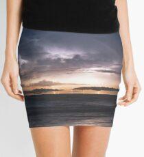 Cable Beach Lightning  Mini Skirt