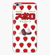 Meiji Strawberry Chocolate Apollos Sweets iPhone Case
