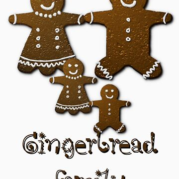 gingerbread family by LynneHerry