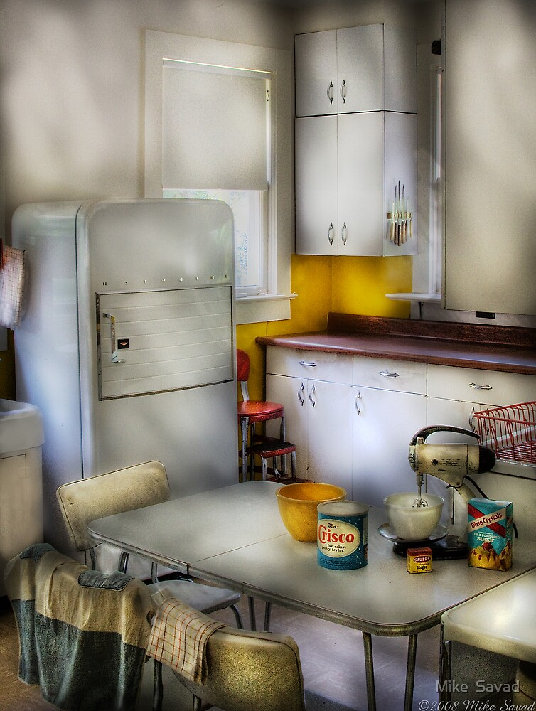 A 1960's Kitchen by Michael Savad