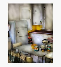 A 1960's Kitchen Photographic Print