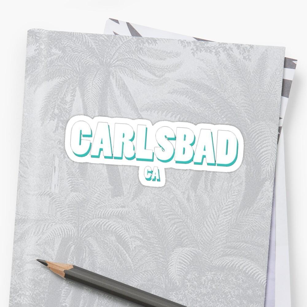 Carlsbad Geotag by gillstapler