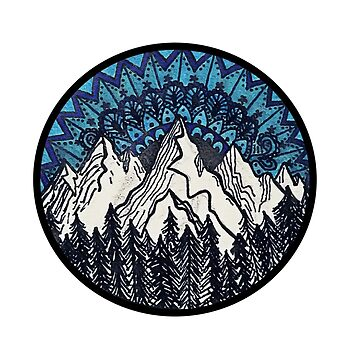 Mountain Mandala by DoodleC