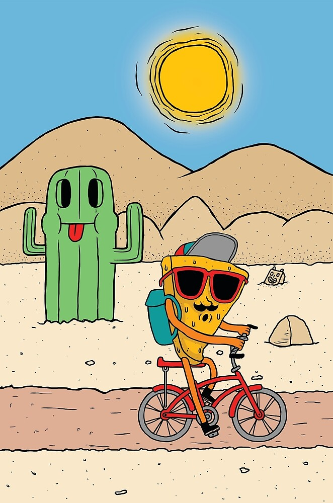 Charlie In The Desert by charliecheese
