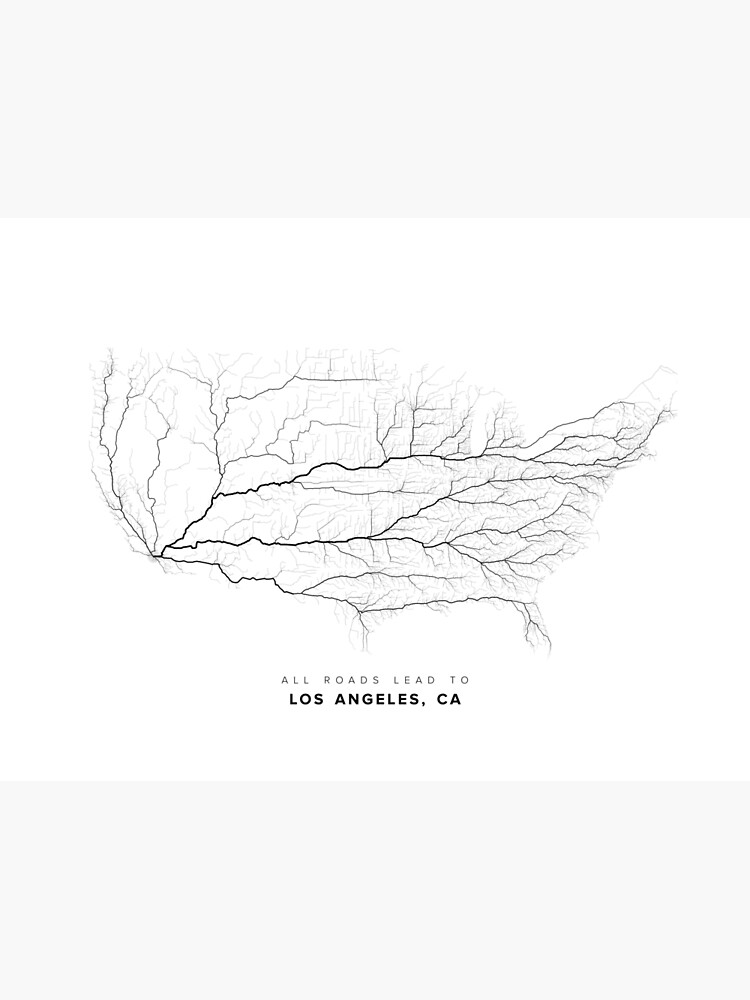 All Roads Lead to Los Angeles by LaarcoStudio
