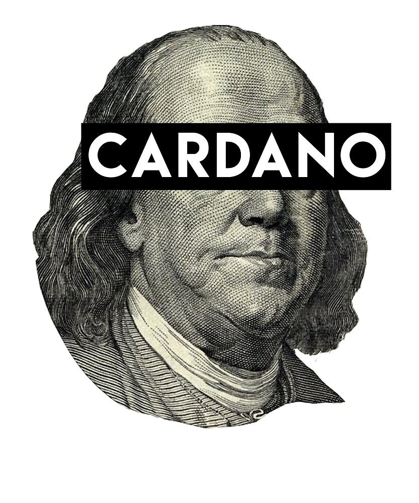 Cardano ADA Benjamin Franklin FIAT T Shirt & Stickers by langston1014