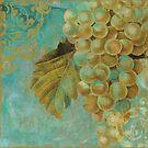 Aqua Fruit Grapes by mindydidit
