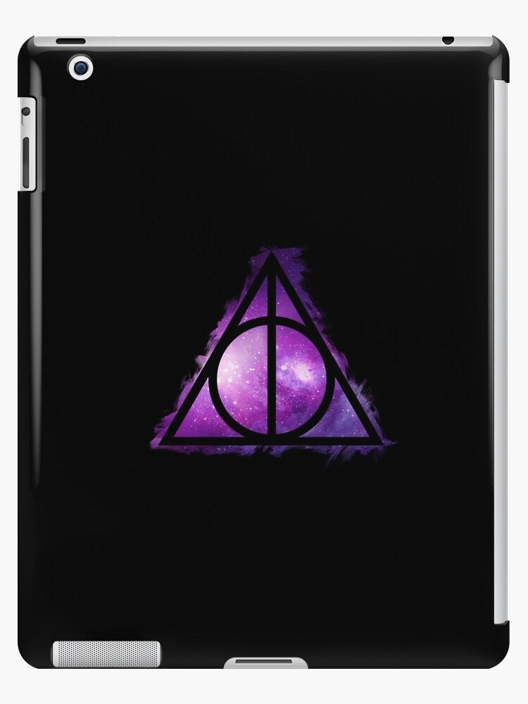 Galaxy hallows pink (small) - wand, cloak, stone by Vane22april