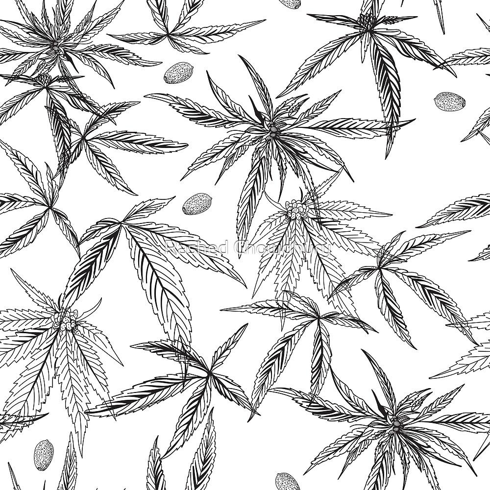 Marijuana leaf by Rashed Chowdhury