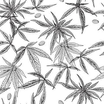 Marijuana leaf by 1123233212