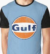 Gulf Racing Retro Graphic T-Shirt
