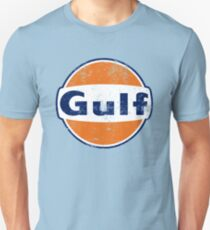 Camiseta unisex Gulf Racing Retro