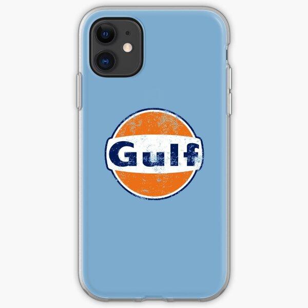 Gulf Racing Retro iPhone Soft Case
