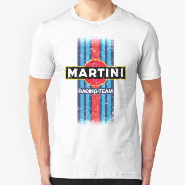 Martini Racing Retro Slim Fit T-Shirt