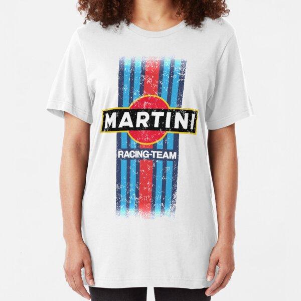 Martini Racing Retro Camiseta ajustada