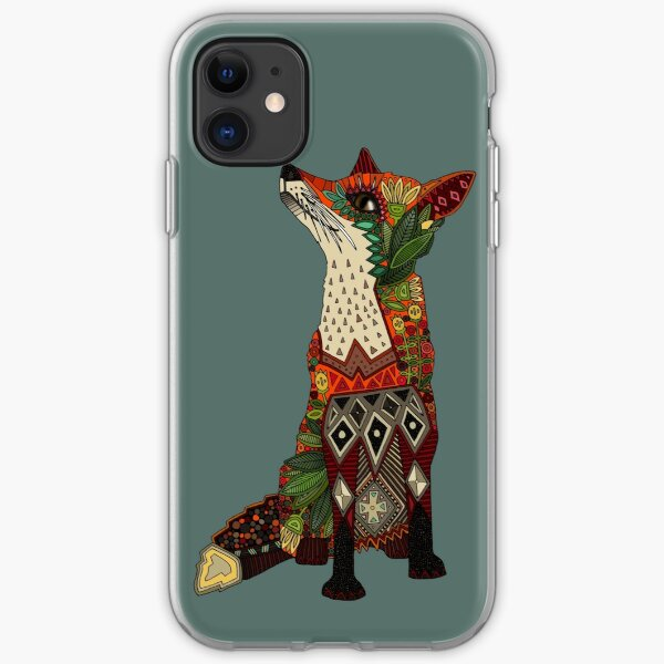 fox love iPhone Soft Case