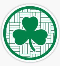Parquet Clover 1 Sticker