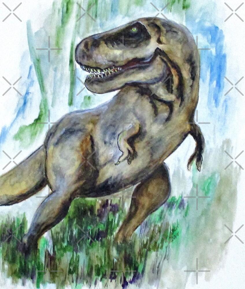 Salvatori Dinosaur by Clyde J. Kell