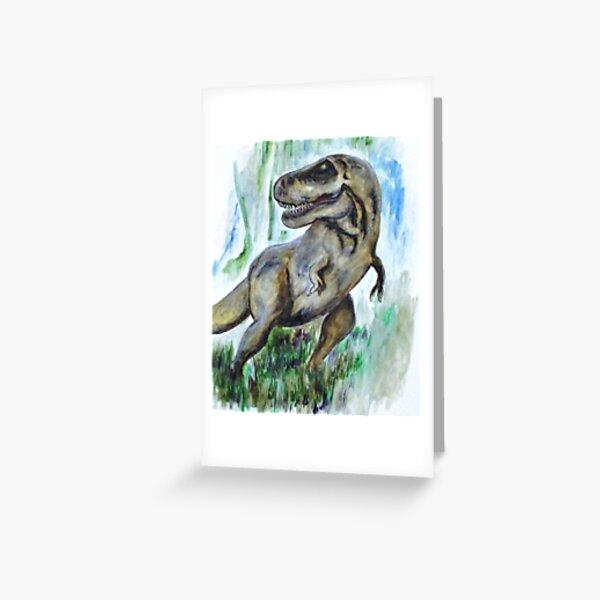 Salvatori Dinosaur Greeting Card