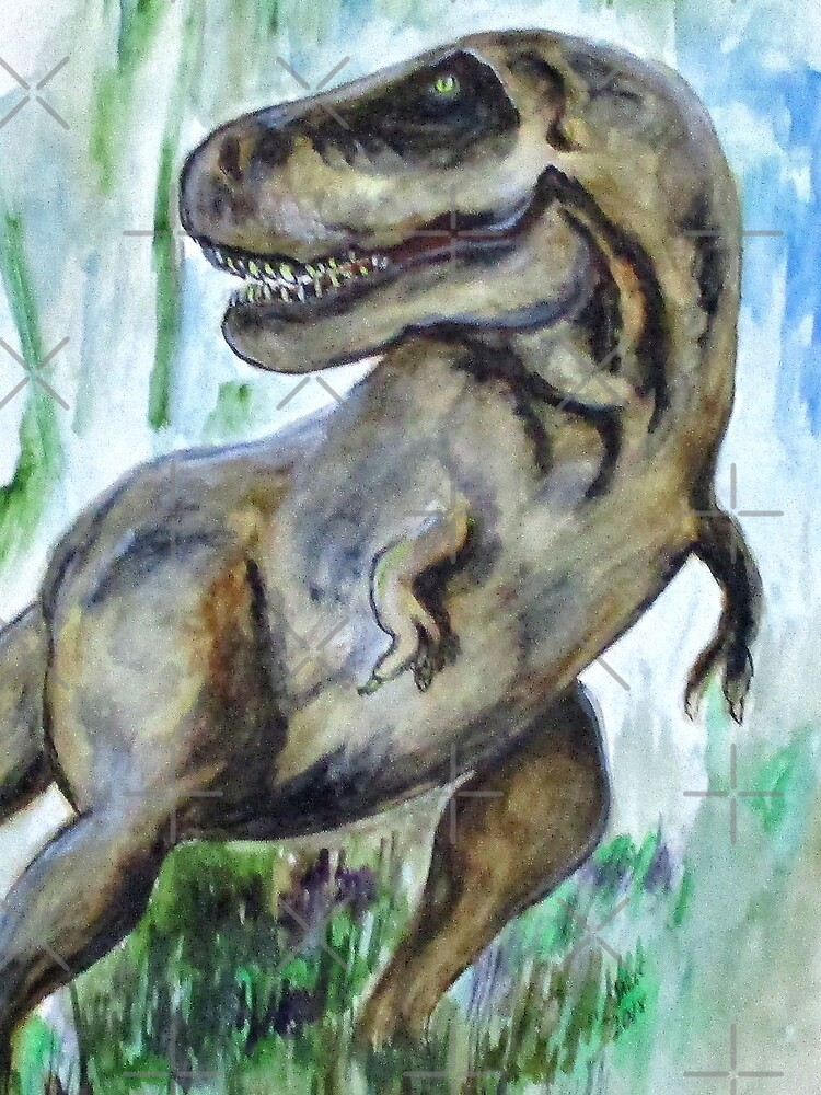 Salvatori Dinosaur by cjkell