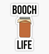 Booch Life Kombucha Tea Drink Sticker