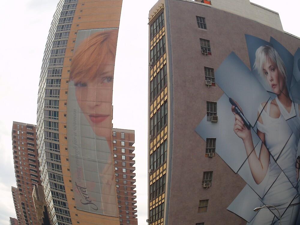Manhattan Advertising by liqwidrok