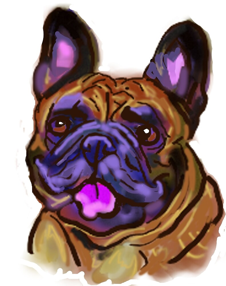 The happy French Bulldog Love of My Life by LaLanny
