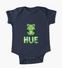 Hue Frog Short Sleeve Baby One-Piece