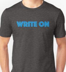 write on Unisex T-Shirt
